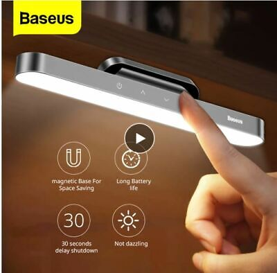 Baseus LED Table Lamp Magnetic Desk Lamp Hanging Wireless Touch Night Light for