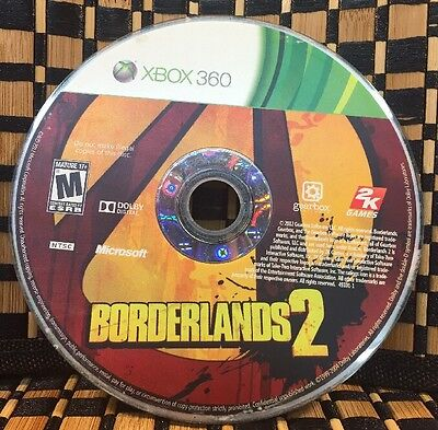 Borderlands 2 (Microsoft Xbox 360, 2012) USED (DISC ONLY) #10594