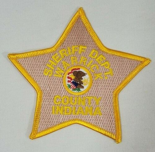 SHERIFF DEPARTMENT DEPT WARRICK COUNTY INDIANA POLICE PATCH