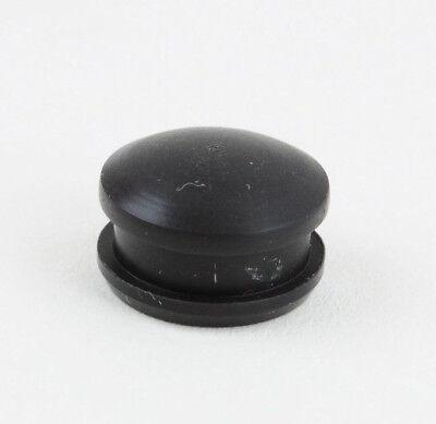 Bosch Herd Bedienblende, Gummikappe schwarz / tiefbraun Abdeckung Drucktaste Uhr
