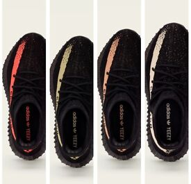 Adidas yeezy Boost 350 V2 SPLY UK8.5 or UK9 red/green/white/copper/beluga solar red 100%Authentic