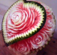Fruit Carving, Center piece
