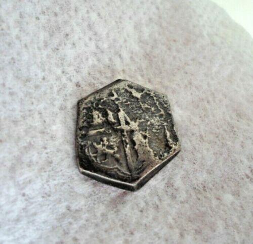 Silver Spanish Reales Treasure Cob Coin