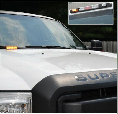 Led Warning Strobes By Soundoff Signal 4 Corner Strobe Light Up-fitter Switch
