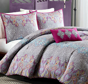 Purple Paisley Bedding Ebay