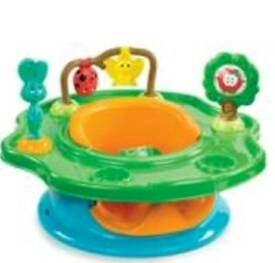 New Baby chair sit/eat/play 3in1