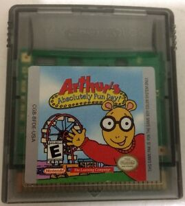 Gameboy Arthur's Absolutely Fun Day!