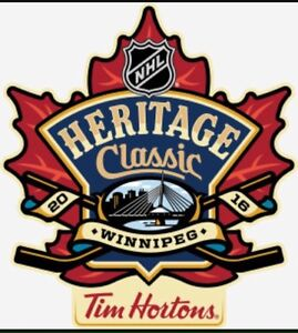 2016 Heritage Classic feat. Oilers vs Jets