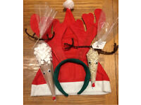 Christmas Eve box bundle (reindeer hot chocolate, reindeer food, hat and antlers