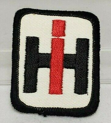 "Vintage Case IH International Harvesters Embroidered Iron-On Patch 2"" x 2 1/2"""