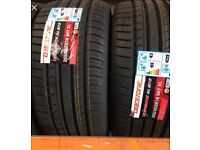 255/35/18 DEESTONE TYRES SUPPLIED AND FITTED.