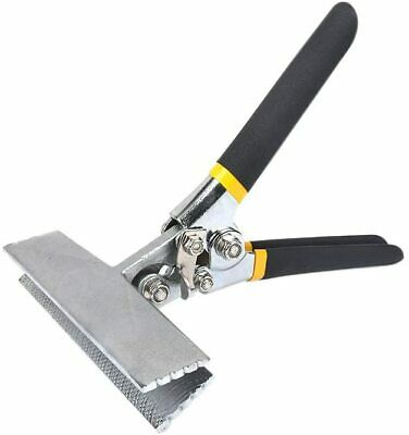 Sheet Metal Hand Seamer - 6 Inch Straight Handle Jaw Manual Metal Bender Tool