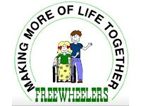Phab Freewheelers activity worker required