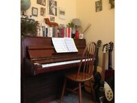 Upright Piano - very sad to see it go!