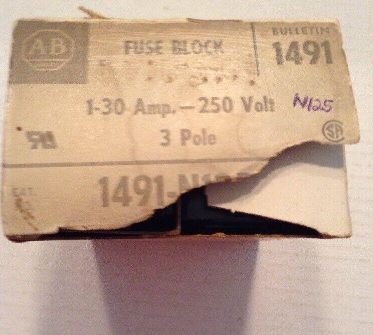 Allen-Bradley Fuse Block X-401977