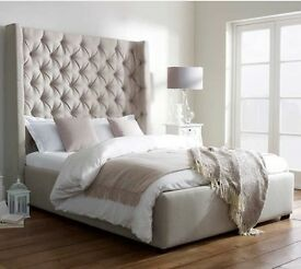 Double storage bed frame