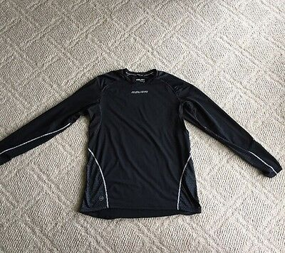 Bauer 37.5 Long Sleeve Compression Shirt (Men's Large Hockey Fit)