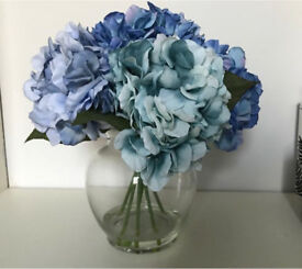 Faux Hydrangea Flowers - look very realistic - good quality