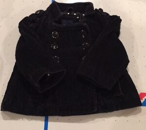 Baby corduroy fall jacket