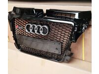 **AUDI A3 RS3 FACELIFT LOOK ALIKE GRILL 2008-2012**