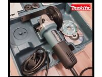 MAKITA 9554NB Angle Grinder+2DISKS(Makita D-184559, Makita Diamak P-34665) NEVER USED,LIKE NEW