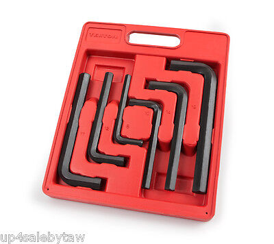 TEKTON Jumbo Hex Key Wrench Set, Metric, 8 mm - 19 mm, 6-Pie