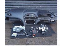Bmw 6 series f12 f13 airbag kit dashboard curtain airnag steering seatbelts 2012-17 f06 m sport