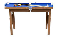 Pool table chicago debut 29 x 55 inches