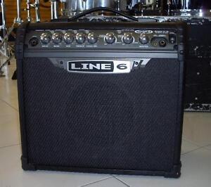 Amplificateur  usagé LINE6 Spider III 15 watts avec effets en  très bon état!