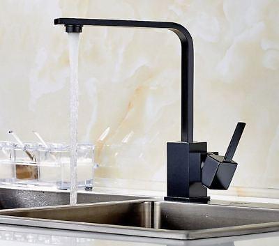 Square Kitchen Wet Bar Bathroom Sink Swivel Faucet Oil Rubbed Bronze fhg006 Bronze Square Kitchen Sink