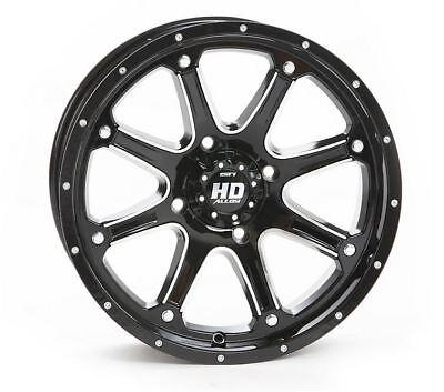 STI HD4 Gloss Black ATV Wheel 14x7 4/156 - (4+3) [14HD403]
