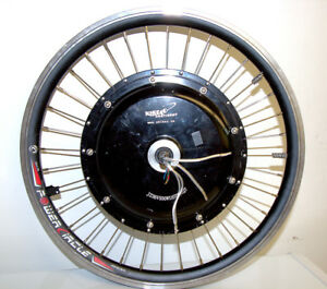 ebike 9C motor and rim