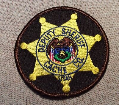 UT Cache County Utah Sheriff Patch (3In)