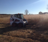 skid steer services / Weed cutting / Rototiller
