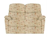 Two Seater Sofa and Chair made by 'Celebrity' a well known quality brand.