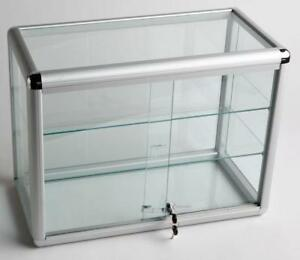 NEW STORE DISPLAY GLASS DISPLAY CABINETS LOCKABLE S1500 S1600