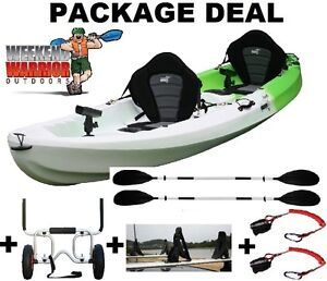 DOUBLE KAYAK 2.5 Seat or Triple FAMILY FISHING STABLE PACKAGE Erina Gosford Area Preview