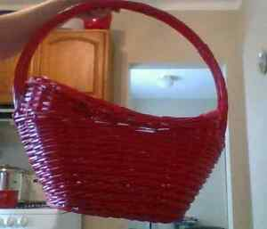 Very Large Red Basket~!