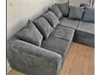 BRAND NEW LIVERPOOL JUMBO CORD/3 + 2 SOFA SET SOFA AVAILABLE IN DIFFERENT COLOR BOOK YOUR ORDERS NOW