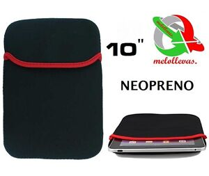 Funda neopreno elastico para tablet pc portatil notebook apad ebook 10 pulgadas - Fundas para pc portatil ...