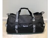 Supreme holdall gym weekend bag cordura fabric
