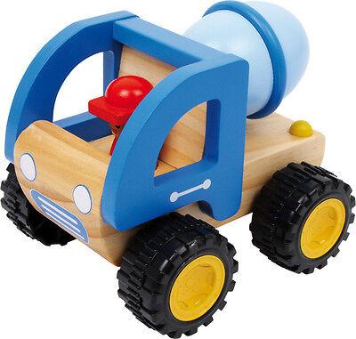 LKW Zementmischer aus Holz Spielzeugauto Baufahrzeug Holzspielzeug Legler 2227