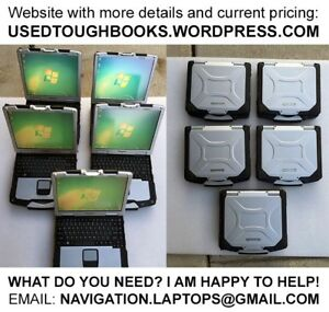 RUGGED Panasonic Toughbook laptops 5 10 12 13 15 inch models