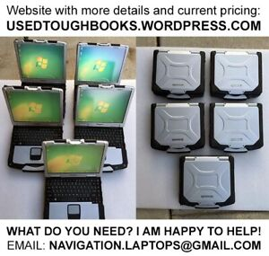 METAL RUGGED Panasonic Toughbook LAPTOPS for ROUGH use
