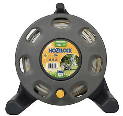 Hozelock 30m Garden Hose Reel Compact Freestanding with 25m Hose 2412