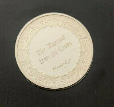 """The Genius of Rembrandt___Sterling Silver Proof Medallion___""""The Descent from"""""""