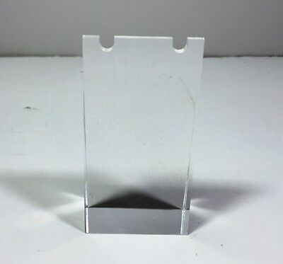 Clear Acrylic Plexiglass Necklace Ear Ring Jewelry Stand Display 11620-27