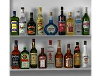 Wanted empty spirit bottles