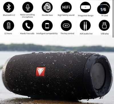 JBL Flip 4 Portable Bluetooth Speaker -mini  - Black