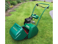 QUALCAST 35S CLASSIC CYLINDER GRASS CUTTER VERY GOOD CONDITION LITTLE USEDITION